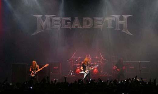 A formação clássica de quarteto do thrash metal tem no Megadeth sua mais fiel representação