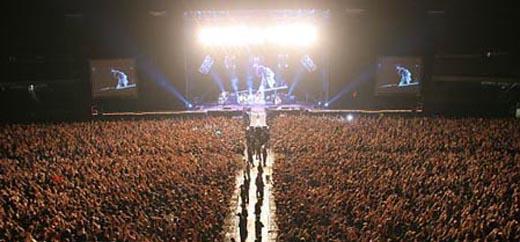 Um público de 62 mil pessoas lotou o Morumbi para ver o Aerosmith