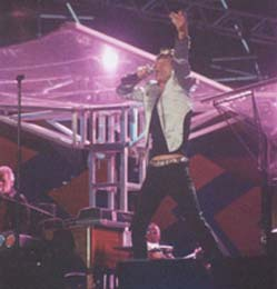 Mick Jagger: duas horas sem parar