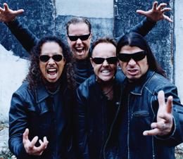 Metallica: a banda mais pedida nas pesquisas