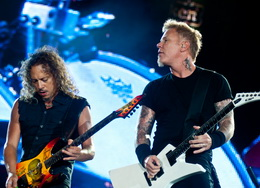 Kirk Hammett e Hetfield: revivendo as 'twin guitars'