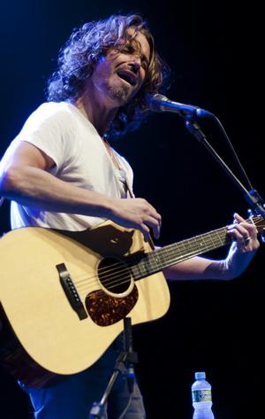 Nem só de grandes sucessos foi a noite de Chris Cornell