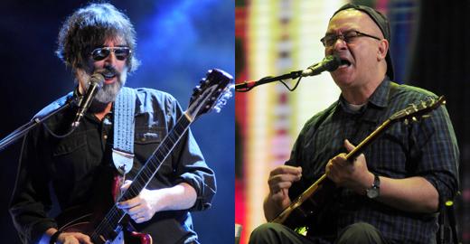 Lobão fez o show de encerramento; Herbert Vianna, com o Paralamas, tocou mais cedo no festival