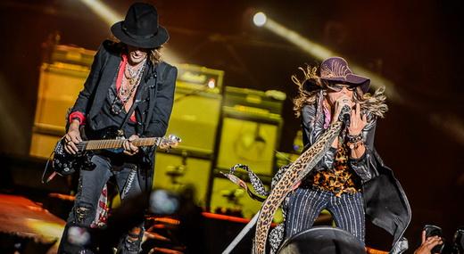 Joe Perry e Steven Tyler: a dupla ambígua que comanda a farra rock'n'roll patrocinada pelo Aerosmith