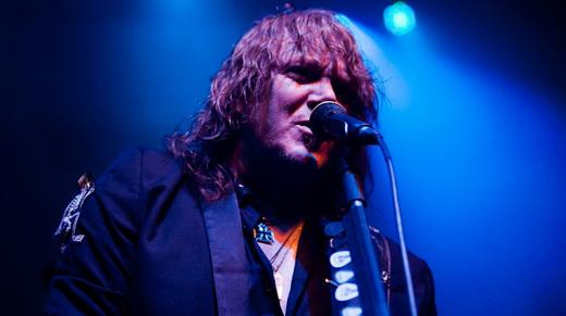 O guitarrista e vocalista do Gamma Ray e fundado do Helloween, Kai Hansen: criatura supera o criador