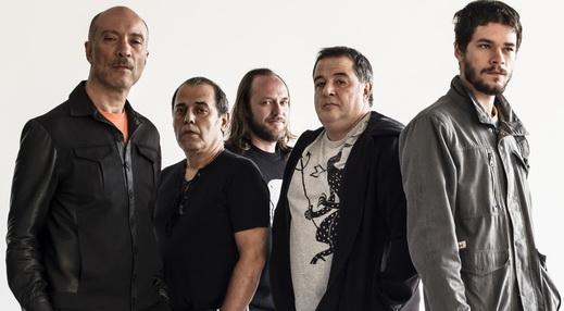 Ira! 2014: Edgard, Johnny Boy (teclado), Evaristo Pádua (bateria), Nasi e Daniel Rocha (baixo)