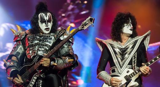 Gene Simmons e Tommy Thayer: tradição e renovação na formação em que o Kiss comemora 40 anos