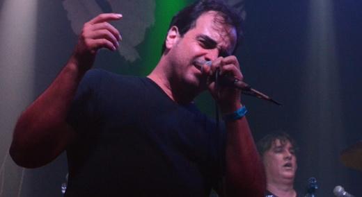 O bom vocalista do Metalmorphose, Tavinho Godoy, para quem o tempo parece não passar