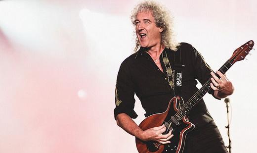 Lindeza: um dos maores ícones da guitarra no rock em todos os tempos, Brian May ainda se emociona