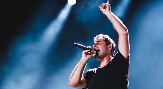 Serj Tankian encabeça a repetição de cerca 70% do repertório do Rock In Rio de 2011 para a edição 2015