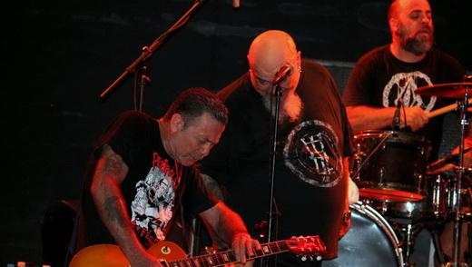 Gordo se diverte com o guitarrista Jão, que chegou a dizer que o repertório não foi muito ensaiado