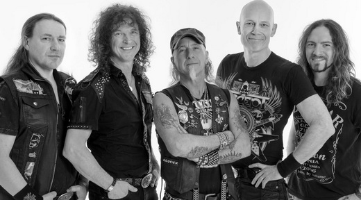 Accept versão 2016: Uwe Lulis, Peter Baltes, Mark Tornillo, Wolf Hoffmann e Christopher Williams