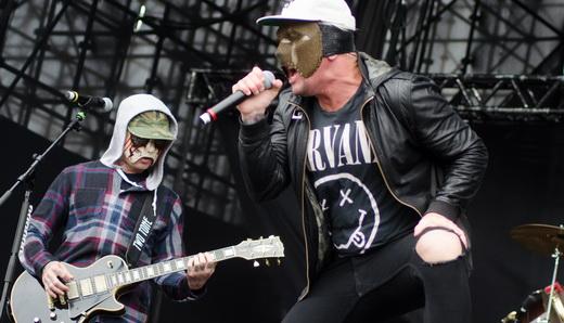 Hollywood Undead: com excesso de integrantes e pouca música produzida, positivamente não deu certo