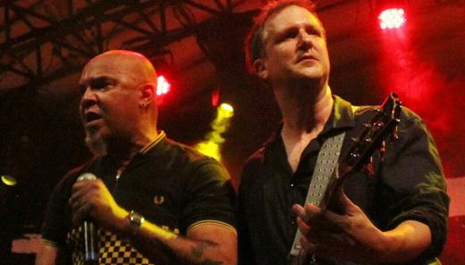 Clemente e Philippe Seabra: sem arrego com os remanescentes do punk rock nacional dos anos 80