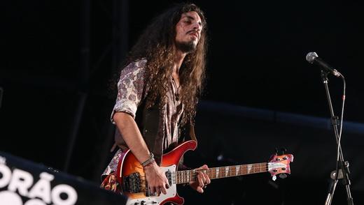 O guitarrista do Almirante Shiva, Carlos Beleza, que também tocou em outras duas bandas no Porão