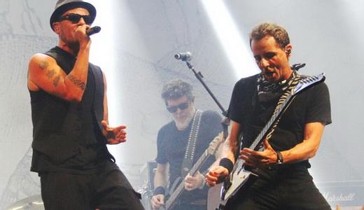 Sérgio Britto, Branco Mello e Tony Bellotto: os três remanescentes da formação original dos Titãs