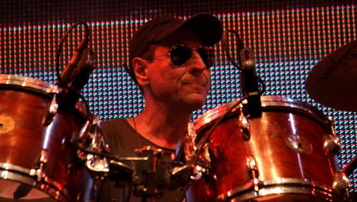 Remanescente da formação original, o baterista Guto Goffi estava preocupado com a reestreia do Barão