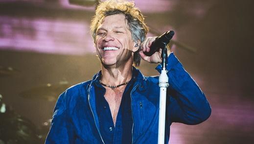 on Bon Jovi: o sorriso e a segurança de quem sabe que, depois de tanto tempo, está em uma ótima fase