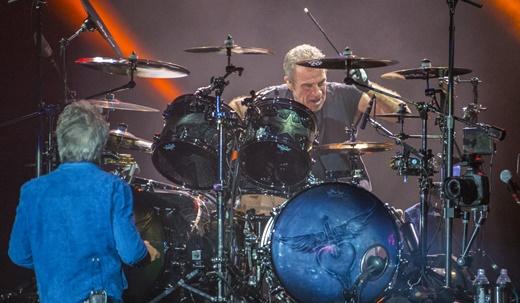 O baterista Tico Torres, ausente no Rock In Rio de 2013, por questões médicas, volta em boa forma