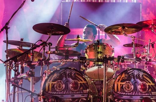 O baterista Eloy Casagrande, ex-promessa que já pode ser colocado entre os melhores do mundo