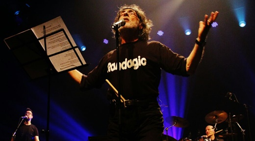 Boa forma: o líder, vocalista, baterista e faz tudo do Premiata Forneria Marconi, Franz Di Cioccio