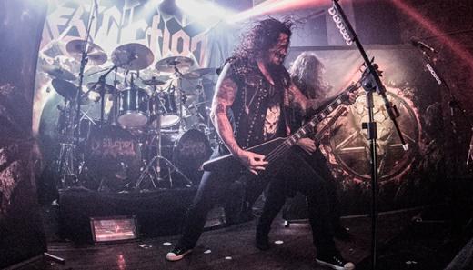 Toda a agressividade do thrash metal alemão do Destruction, em território muito bem ocupado