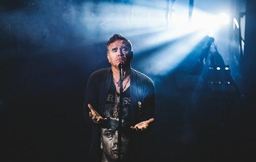 O iluminado Morrissey, em noite de reviver The Smiths e também sua proveitosa e já longa carreia solo