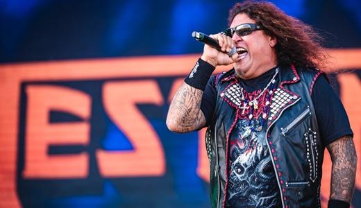 O vocalista do Testament, 'convidado' de luxo no Rock In Rio para cantar três músicas em show cover