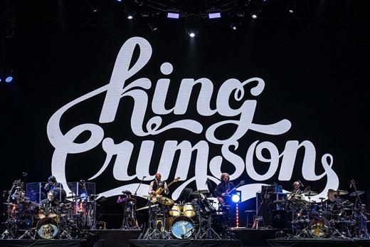 Inesquecível: a paisagem do palco do show do King Crimson no Palco Sunset do Rock In Rio