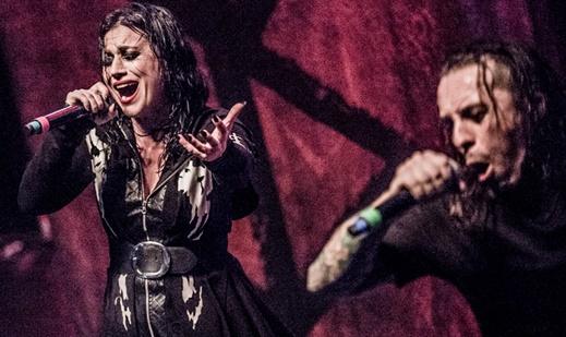 O bom entrosamento da dupla Scabbia e Ferro: poucas vezes o artifício deu tão certo no heavy metal
